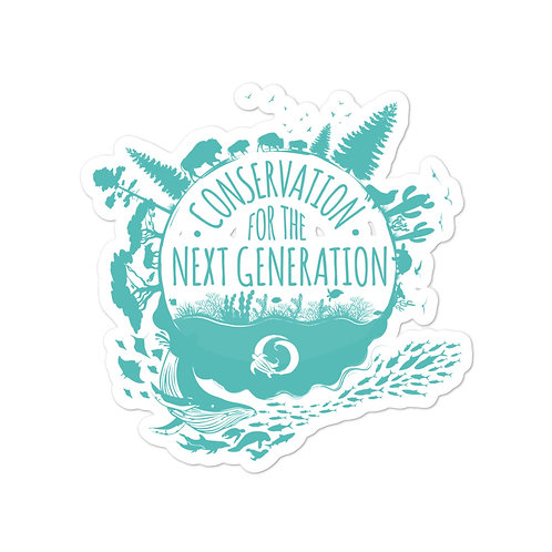 Conservation for the Next Generation stickers