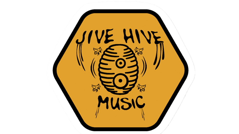 Jive Hive Hexagon Sticker