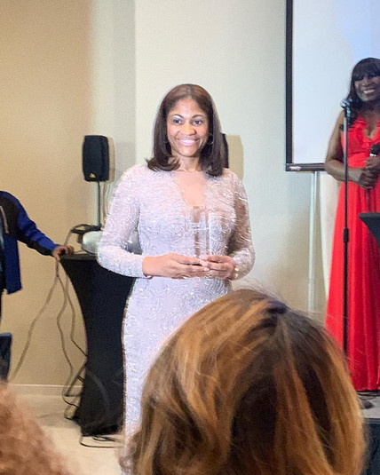 BERNIE LAWRENCE-WATKINS, 2019 WOMEN IN MEDIA ENTERTAINMENT AWARDS RECIPIENT