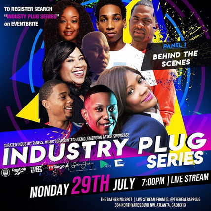 JULY 29th Industry Plug Series: Panelist, Bernie Lawrence-Watkins