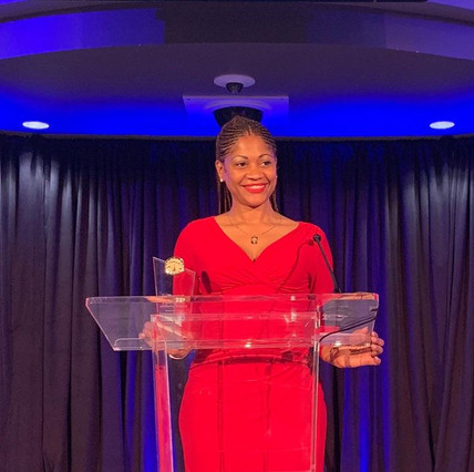 Bernie Lawrence-Watkins, Atlanta's top entertainment lawyer, honored