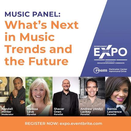 ENTERTAINMENT EXPO NOV 3RD: Bernie Lawrence-Watkins, Panelist