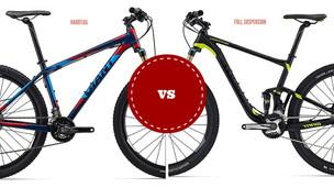 Bike rígida ou full? Qual escolher?