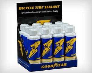 Goodyear apresenta seu selante para pneus de bicicleta