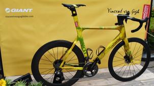 Tom Dumoulin ganha bike com pintura inspirada em Van Gogh