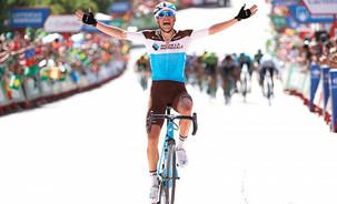 Vuelta: Gallopin vence 7ª etapa, com Sagan e Valverde em 2º e 3º