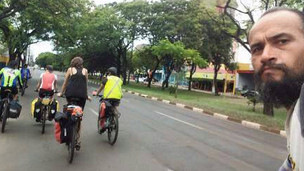 Ciclista argentino morre após ser baleado na BR-277