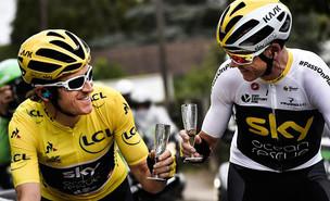 Geraint Thomas, aos 32 anos, é o novo campeão do Tour de France