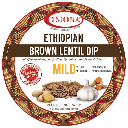 Brown Lentil Dip (Mild)      - (Sold In Stores Only)