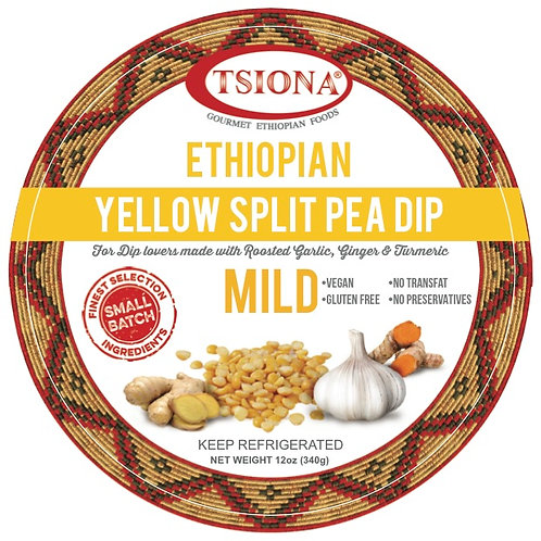 Yellow Split Pea Dip (Mild)  - (Sold In stores Only)