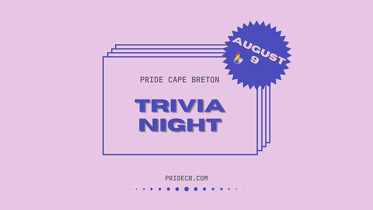 Pride Cape Breton Festival Trivia Night