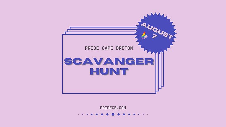 Pride Cape Breton Festival Scavenger Hunt