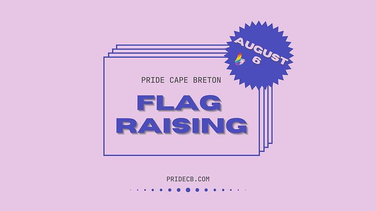 Pride Cape Breton Festival Flag Raising Ceremony