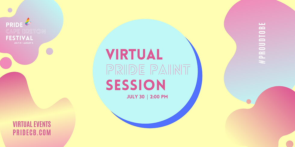 Virtual Pride Paint Session