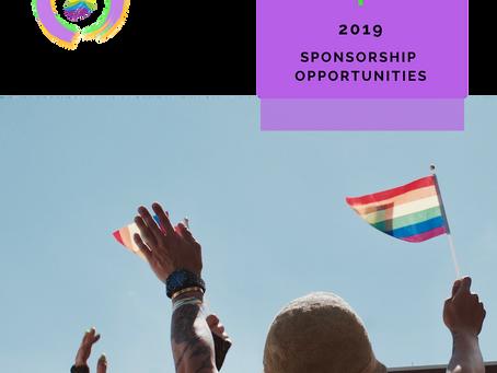 2019 Pride Festival Sponsorship Opportunities