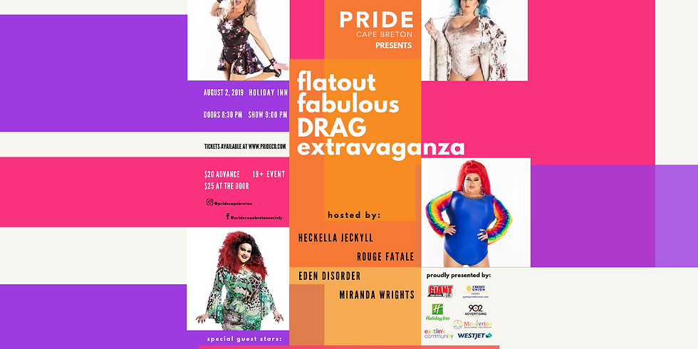 Flat Out Fabulous Drag Extravaganza