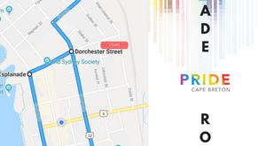 Pride Parade Route - 2019