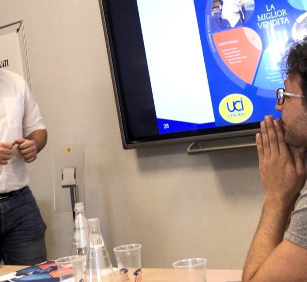 Sales training Italy