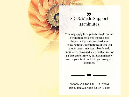 SOS Medi support 22 minutes