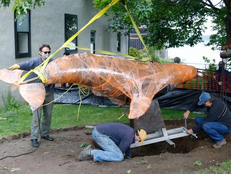 Wishing Whale Installation