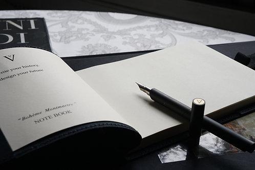 Venvstas Bohème Montmartre, design notebook.