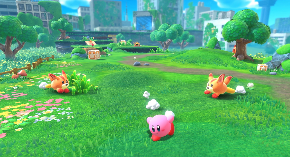 Kirby goes 3D open world in new game