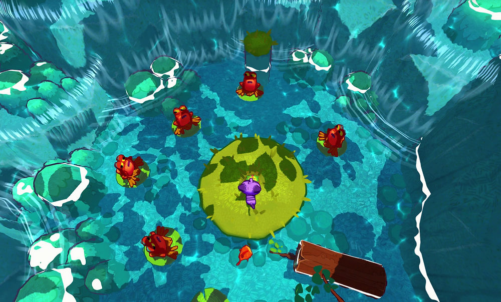Gameplay image of River Tails: Stronger Together