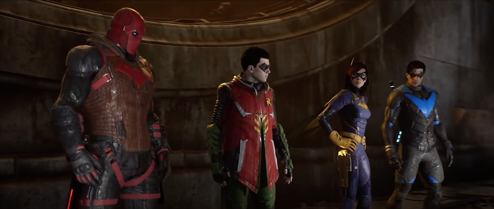 Batman's sidekicks - Nightwing, Robin, Batgirl, Red Hood star in new video game