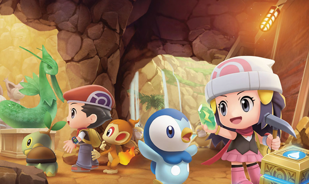 Returning features revamped in Pokemon Brilliant Diamond/Shining Pearl