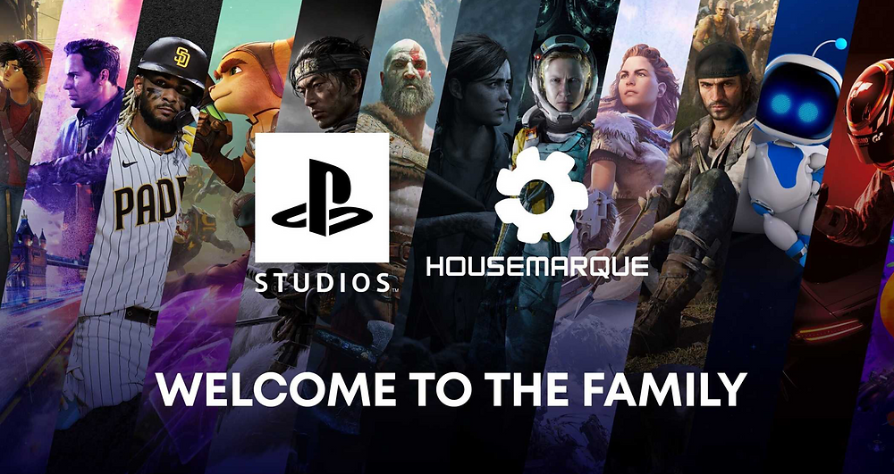 Sony ls making further acquisitions with Housemarque and BluePoint Studios