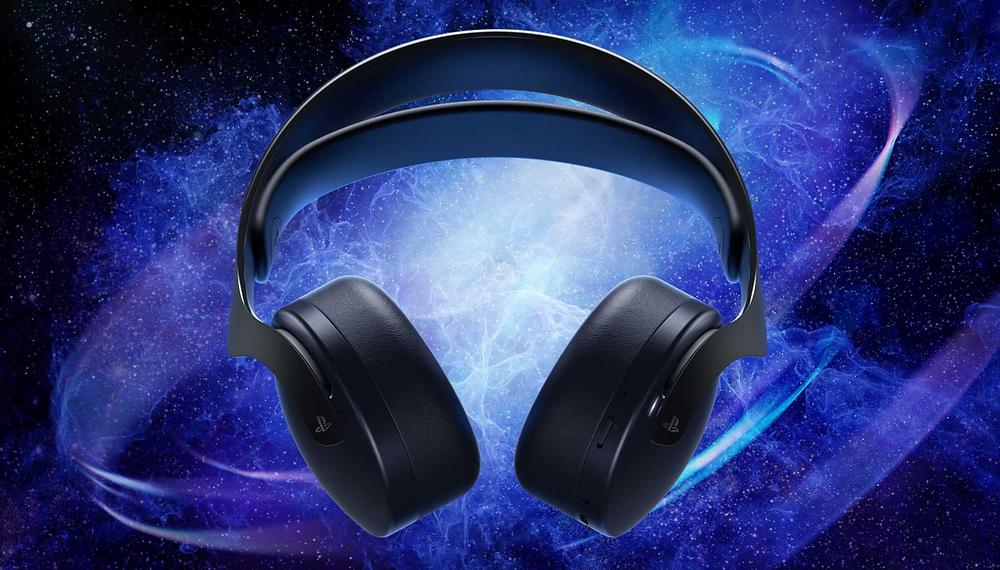 3D Pulse Midnight Black PS5 headset