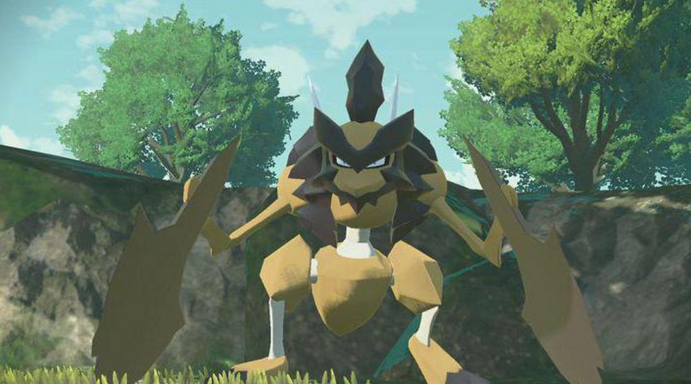 Kleavor the star of new Pokemon Legends: Arceus trailer