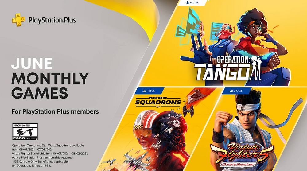 PS Plus June game releases