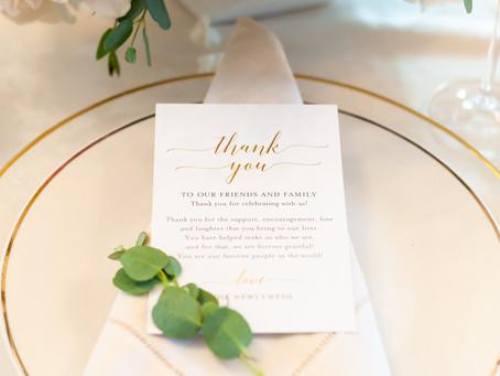 5 Wedding Etiquette Tips for Brides