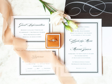 5 Things That Should Be Included On Your Wedding Invitations: A Guide for Chicago Brides