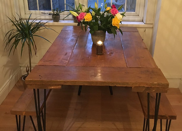 Bi-directional Scaffolders Dining Table