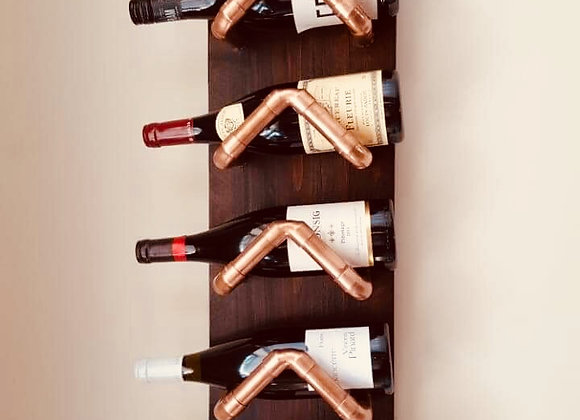 Copper and Wine Rack