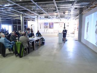 Publiczna obrona Anny Młyńskiej w Rondzie Sztuki w Katowicach