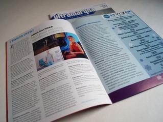 Wywiad z Anną Młyńską na łamach magazynu Ultramaryna