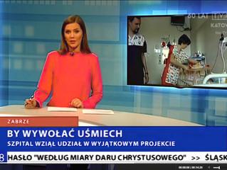TVP 3 Katowice - by wywołać uśmiech. Reportaż o wyjątkowym projekcie stworzonym przez Annę Młyńską,