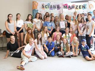 Anna Młyńska wystąpiła gościnnie dla Fundacji TDJ oraz Fundacji Ulica