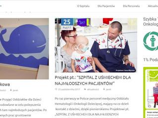 """EFIMED & Samodzielny Szpital Kliniczny nr 1 w Zabrzu w projektcie .: """"SZPITAL Z UŚMIECHEM DLA NA"""