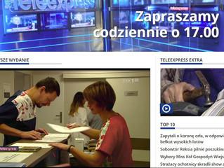 TVP Teleexpress - reportaż o wyjątkowym projekcie prowadzonym przez Annę Młyńską twórcą marki EFIMED