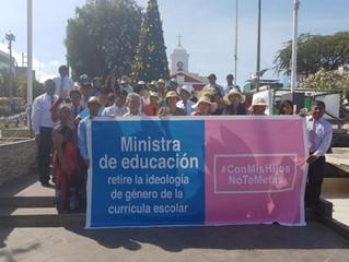 PADRES PERUANOS, LOGRAN SUSPENDER LA IDEOLOGÍA DE GÉNERO IMPUESTA POR LA ONU EN LOS COLEGIOS