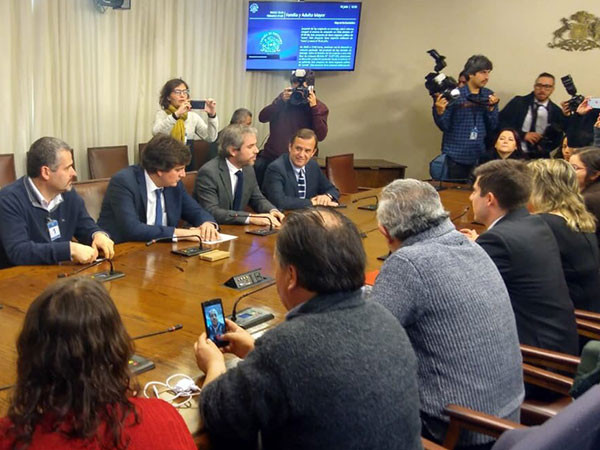 Reunión con ministro Gonzalo Blumel