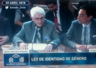 EX TRANSGÉNERO, PIDE NO INCLUIR A MENORES DE EDAD EN EL PROYECTO DE IDENTIDAD DE GÉNERO