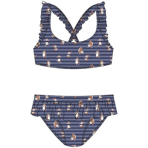 Woody bikini cavia, blauw