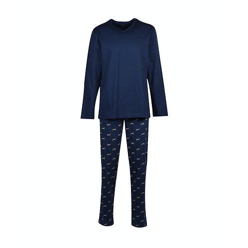 WOODY  pyjama heren, broek met print geit