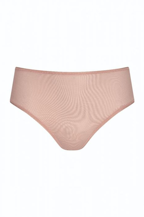 Mey Joan midi slip, pale blush