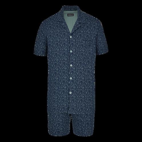Ringella doorknoop pyjamaset kort